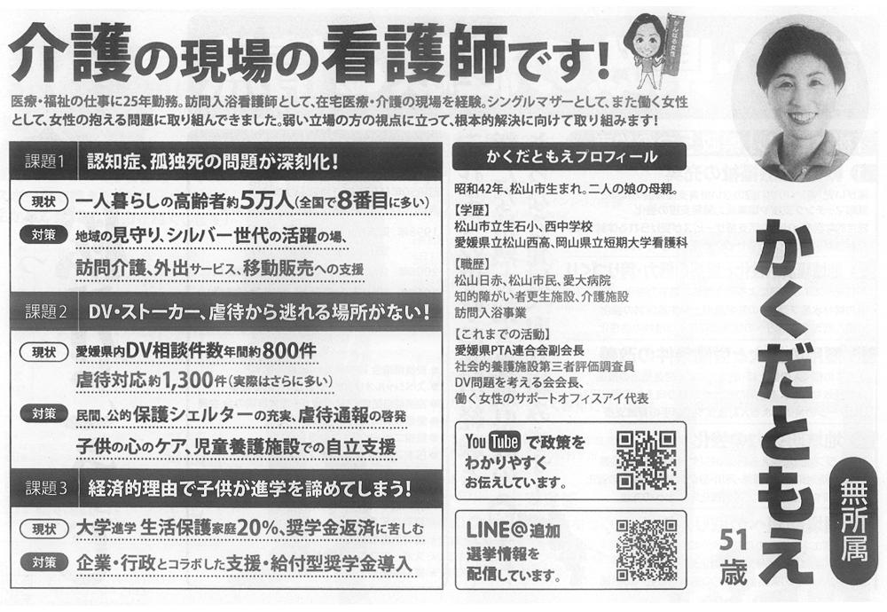 2019年愛媛県議会議員選挙